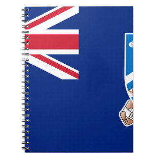 Low Cost! Falkland Islands Flag Notebook