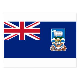 Low Cost! Falkland Islands Flag Postcard