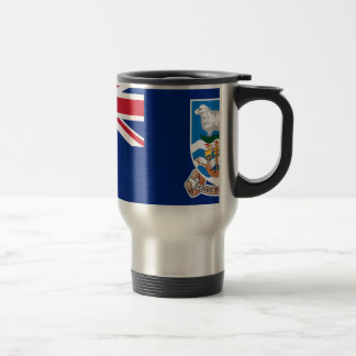 Low Cost! Falkland Islands Flag Travel Mug