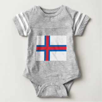 Low Cost! Faroe Islands Flag Baby Bodysuit