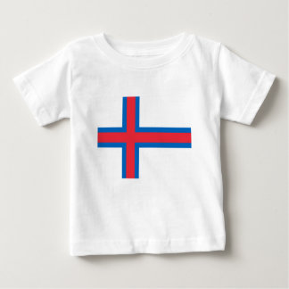 Low Cost! Faroe Islands Flag Baby T-Shirt