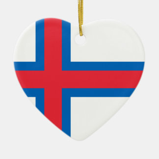 Low Cost! Faroe Islands Flag Ceramic Ornament