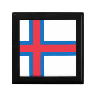 Low Cost! Faroe Islands Flag Gift Box