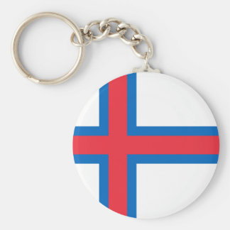 Low Cost! Faroe Islands Flag Key Ring