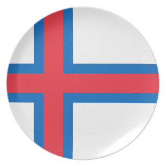 Low Cost! Faroe Islands Flag Plate