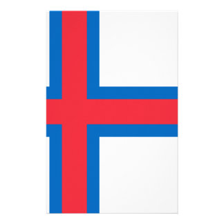 Low Cost! Faroe Islands Flag Stationery