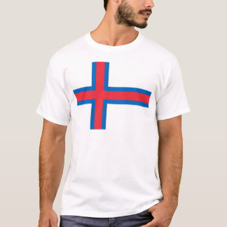 Low Cost! Faroe Islands Flag T-Shirt