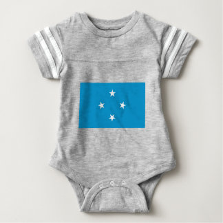 Low Cost! Federated States of Micronesia Flag Baby Bodysuit