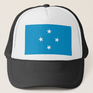 Low Cost! Federated States of Micronesia Flag Trucker Hat