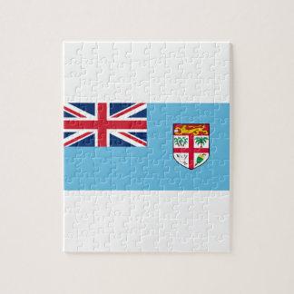 Low Cost! Fiji Flag Jigsaw Puzzle