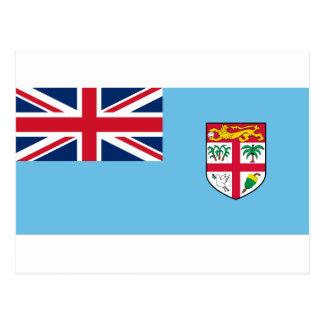 Low Cost! Fiji Flag Postcard