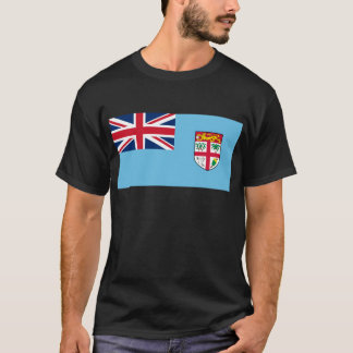 Low Cost! Fiji Flag T-Shirt