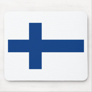 Low Cost! Finland Flag Mouse Pad