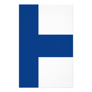 Low Cost! Finland Flag Stationery