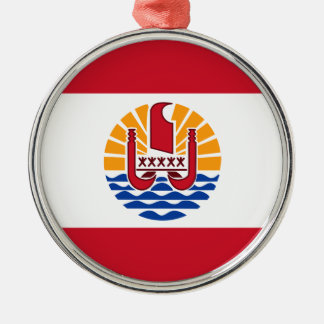 Low Cost! French Polynesia Flag Metal Ornament