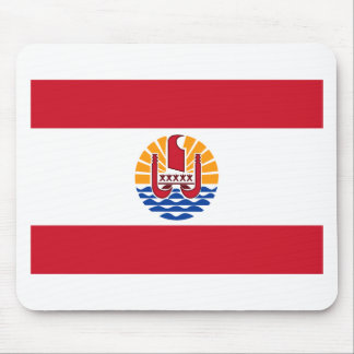 Low Cost! French Polynesia Flag Mouse Pad