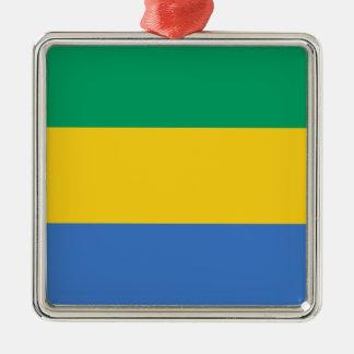 Low Cost! Gabon Flag Metal Ornament