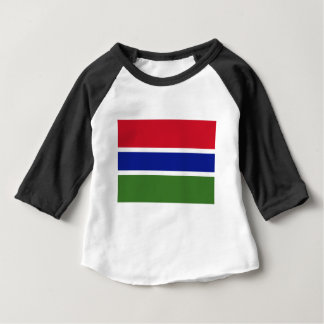Low Cost! Gambia Flag Baby T-Shirt