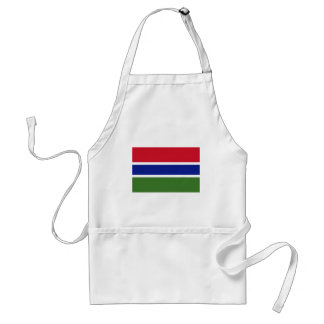 Low Cost! Gambia Flag Standard Apron