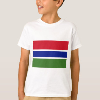 Low Cost! Gambia Flag T-Shirt
