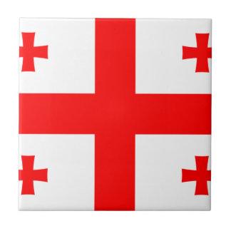 Low Cost! Georgia Flag Ceramic Tile