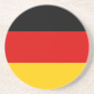 Low Cost! German Flag Coaster