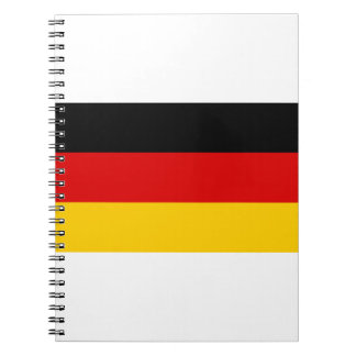 Low Cost! German Flag Notebooks