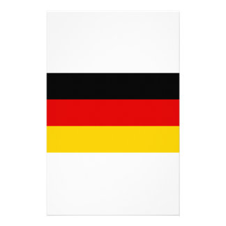 Low Cost! German Flag Stationery