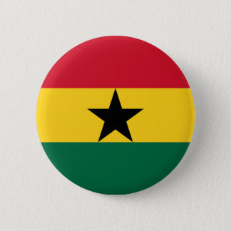 Low Cost! Ghana Flag 6 Cm Round Badge