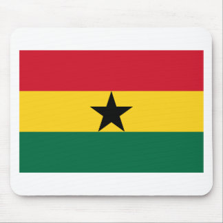 Low Cost! Ghana Flag Mouse Pad