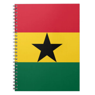 Low Cost! Ghana Flag Notebook