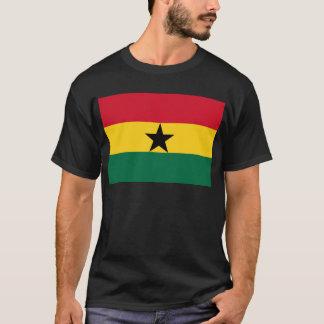 Low Cost! Ghana Flag T-Shirt