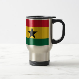 Low Cost! Ghana Flag Travel Mug
