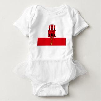 Low Cost! Gibraltar Flag Baby Bodysuit