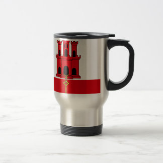 Low Cost! Gibraltar Flag Travel Mug