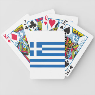 Low Cost! Greece Flag Bicycle Playing Cards