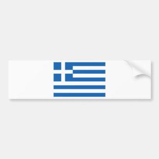 Low Cost! Greece Flag Bumper Sticker