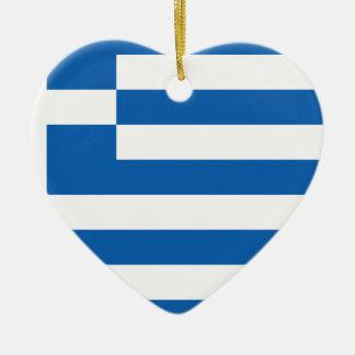 Low Cost! Greece Flag Ceramic Ornament