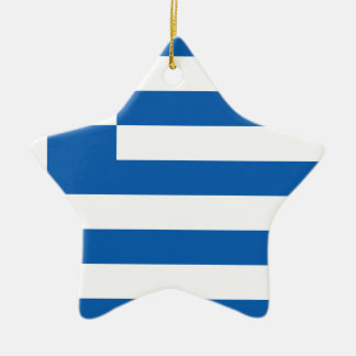 Low Cost! Greece Flag Ceramic Star Decoration