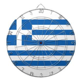 Low Cost! Greece Flag Dartboard