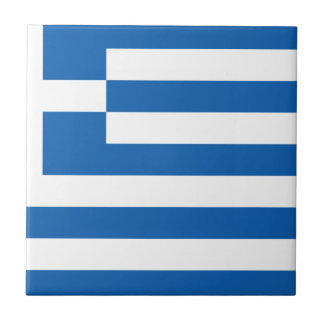 Low Cost! Greece Flag Small Square Tile