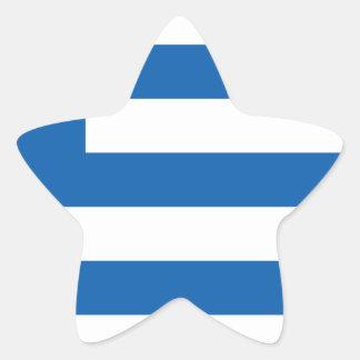 Low Cost! Greece Flag Star Sticker