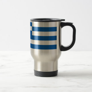 Low Cost! Greece Flag Travel Mug