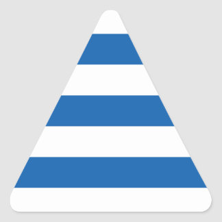 Low Cost! Greece Flag Triangle Sticker