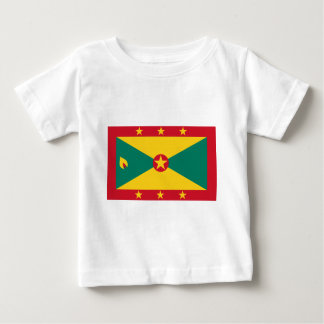 Low Cost! Grenada Flag Baby T-Shirt