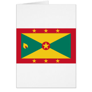 Low Cost! Grenada Flag Card