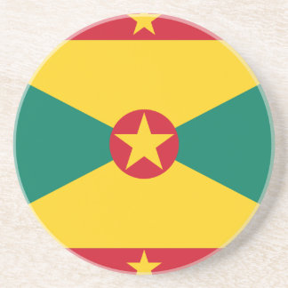 Low Cost! Grenada Flag Coaster
