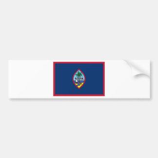 Low Cost! Guam Flag Bumper Sticker