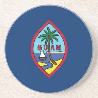 Low Cost! Guam Flag Coaster