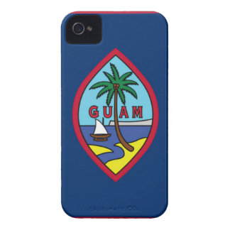 Low Cost! Guam Flag iPhone 4 Case-Mate Case